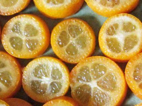 Gekonfijte Kumquats